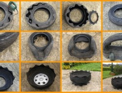 DIY Tire Planter - The Owner-Builder Network