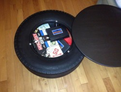 Recycled Tire Coffee Table - bigern00