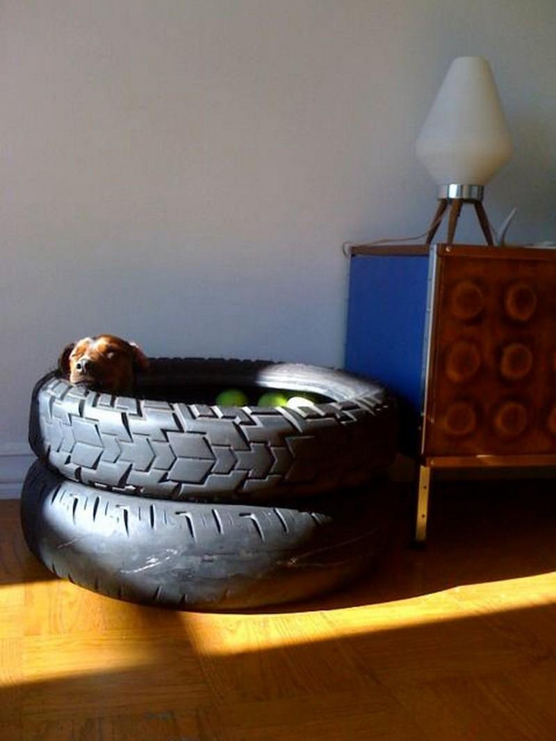 Tire Dog Bed Nest The Owner Builder Network