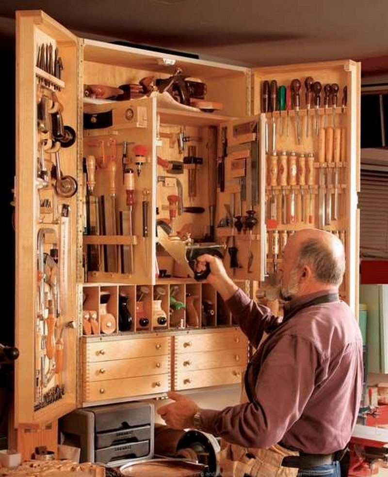 Tool storage ideas the owner builder network for Online shelf design tool