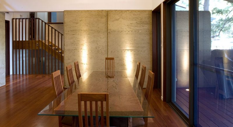 Dux Nutz dining area - Earthbound Design + Construct