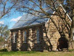 Laggan church conversion - exterior rear view