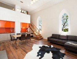 Laggan church conversion - great room