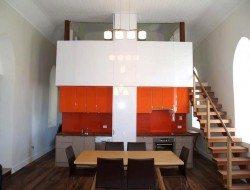 Laggan church conversion - kitchen