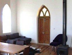 Laggan church conversion - living room