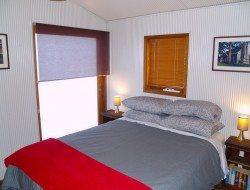 Laggan church conversion - master bedroom