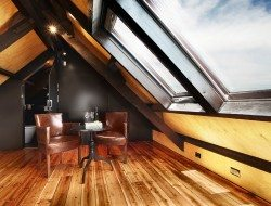 Moonee Ponds Anglican church conversion - attic office