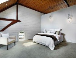 Moonee Ponds Anglican church conversion - loft bedroom