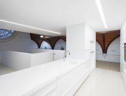 Queenscliff Church Residenial Conversion - Timber Ceiling - Kitchen