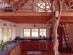 Rustic cabin by Joan Heaton Architects