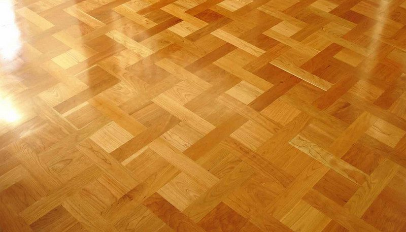 If damaged, parquetry flooring is usually very easy to repair