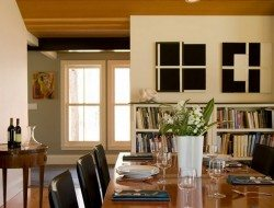 Modern Farmhouse by Marcus Gleysteen Architects - Dining Area