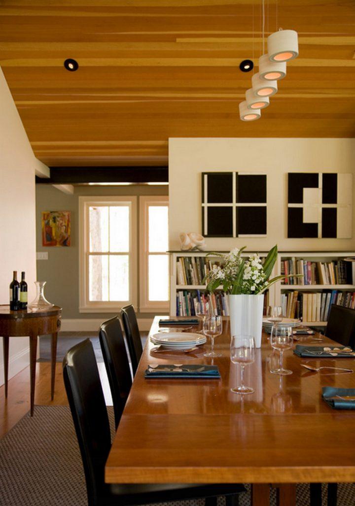 Modern Farmhouse by Marcus Gleysteen Architects - Dining Area