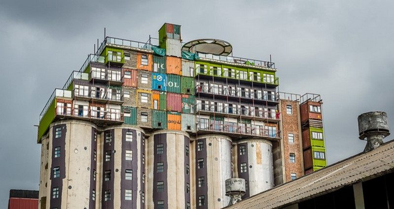 Silo meets container - insanity or genius?