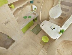 Student Housing by Tengbom - Kitchen and Dining Area