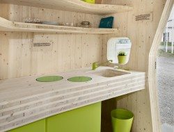 Student Housing by Tengbom - Kitchen