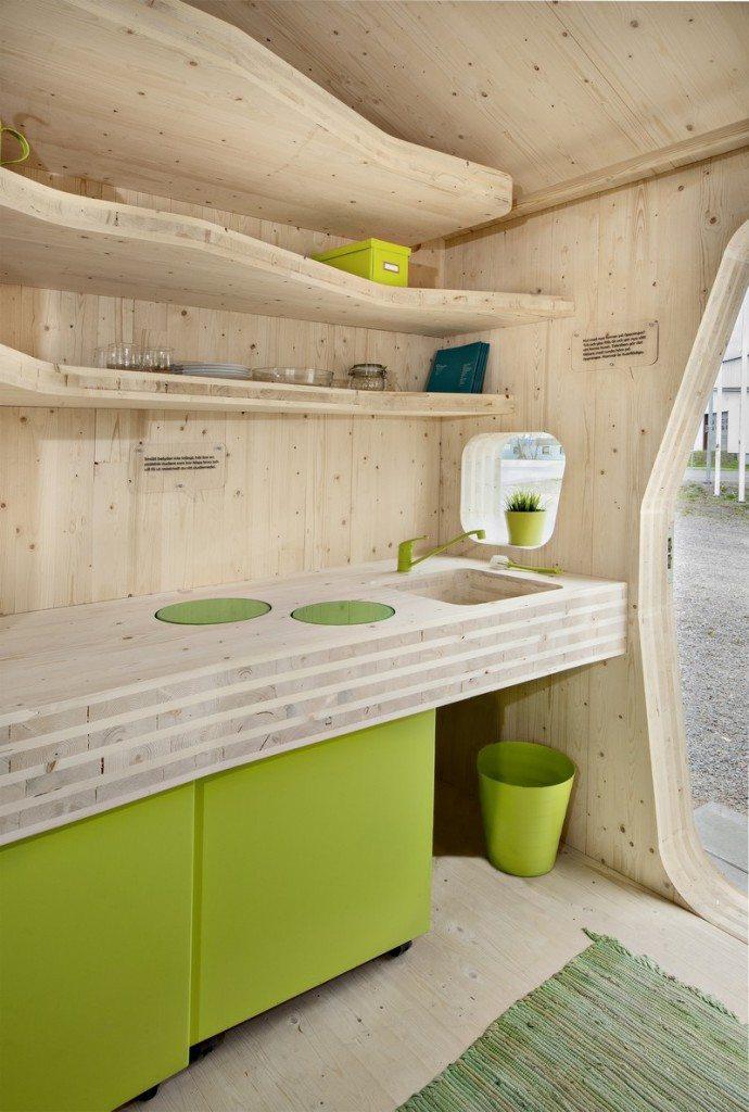 Student Housing by Tengbom - Kitchen