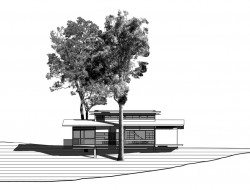 Bark Studio - NE Elevation