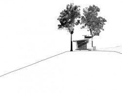 Bark Studio - NW Elevation
