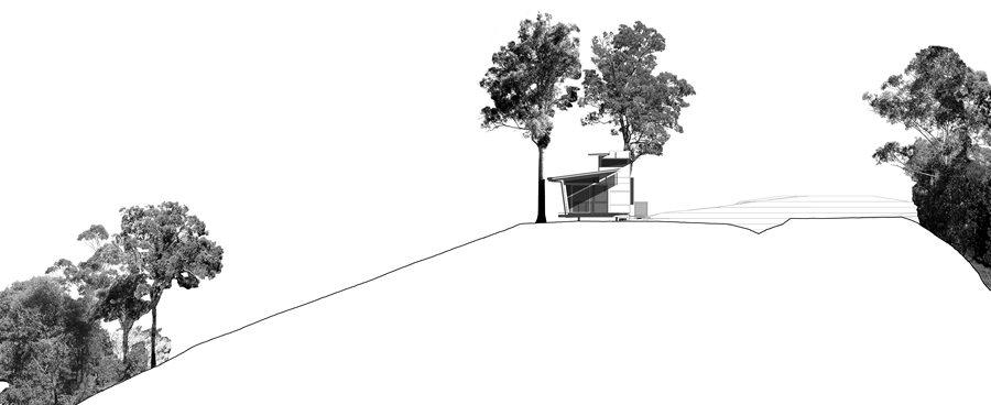 Bark Studio - NW Elevation
