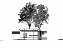 Bark Studio - SW Elevation