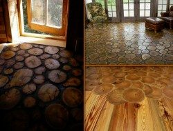 As log-end flooring...
