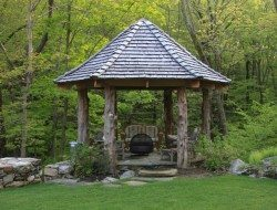 Or like this gazebo by Fairfield House and garden