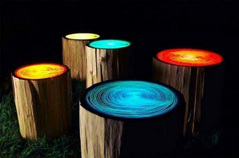 Or fun glow in the dark stools