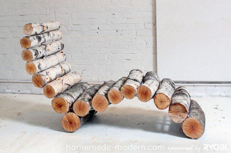 A recliner by Homemade Modern