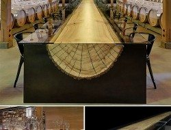 As this winery table by John Houshmand - NY