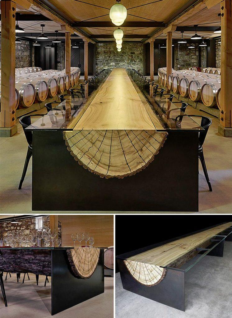 As this winery table by John Houshmand - NY