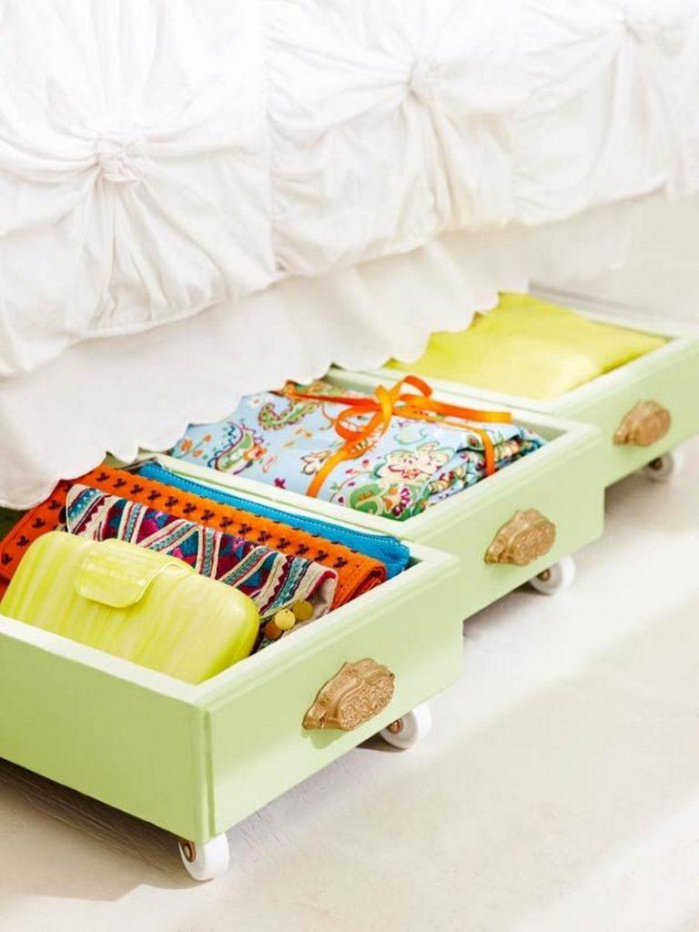 Under-Bed Drawer Storage