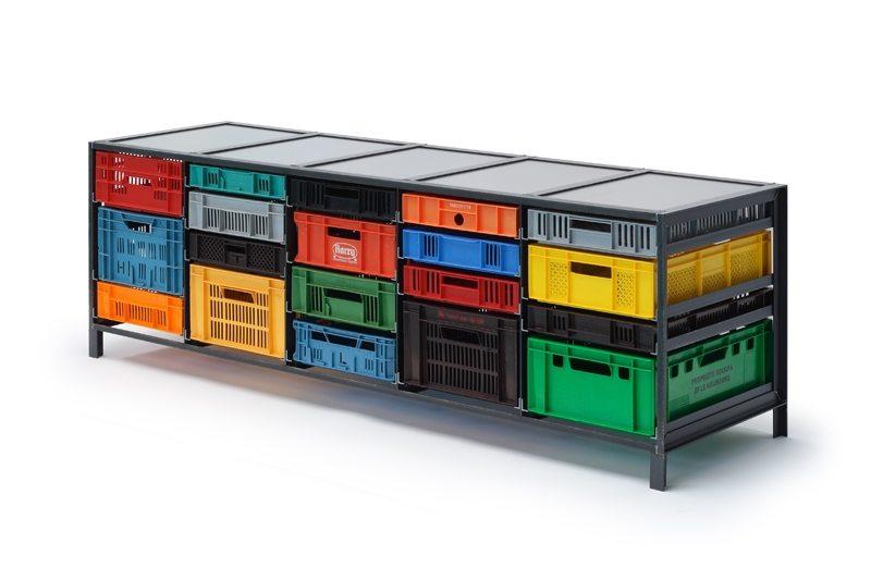 Crates Cabinet