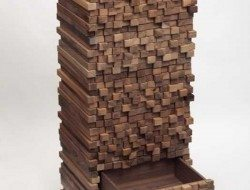 Wood Stack Look Drawer
