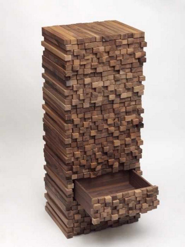 Wood Stack Look Drawer