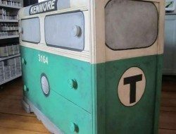 Painted Subway Car Dresser Tutorial