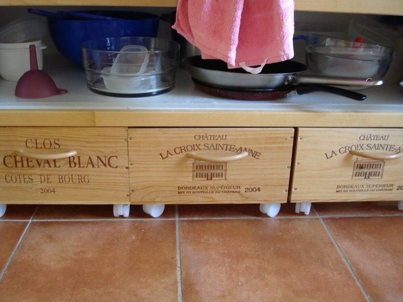 Wine Box To Drawer