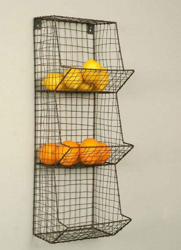 Baskets On Walls
