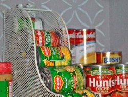 Magazine Holder Idea - Food Storage