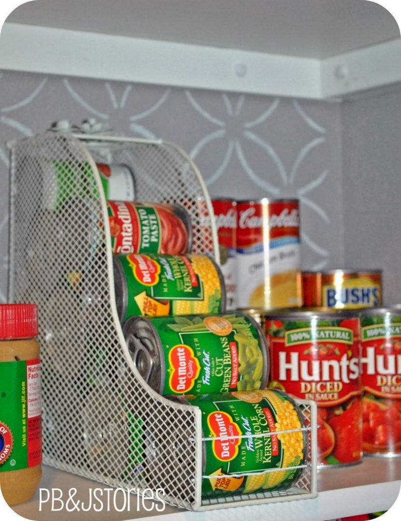 Magazine Holder Idea - Food Storage