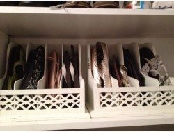 Magazine Holder Idea - Footwear Storage