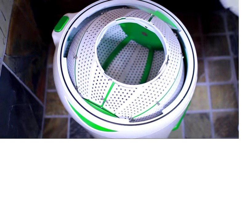 Bike Washing Machine >> No powerpoint needed... human powered washing machines! | The Owner-Builder Network