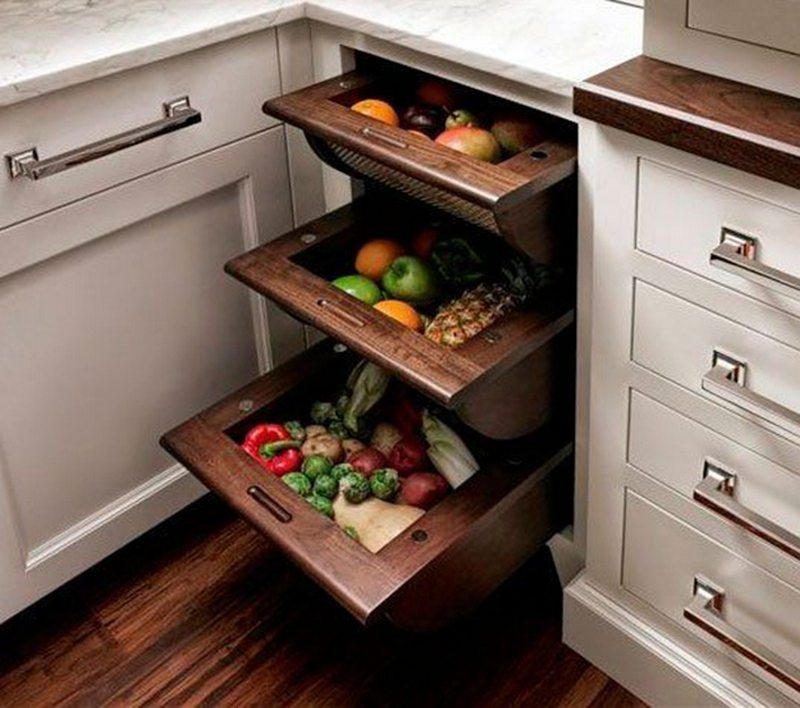 Open Mesh On Drawers