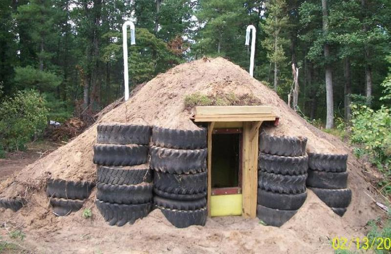 Repurposed Tank Root Cellar Storm Shelter