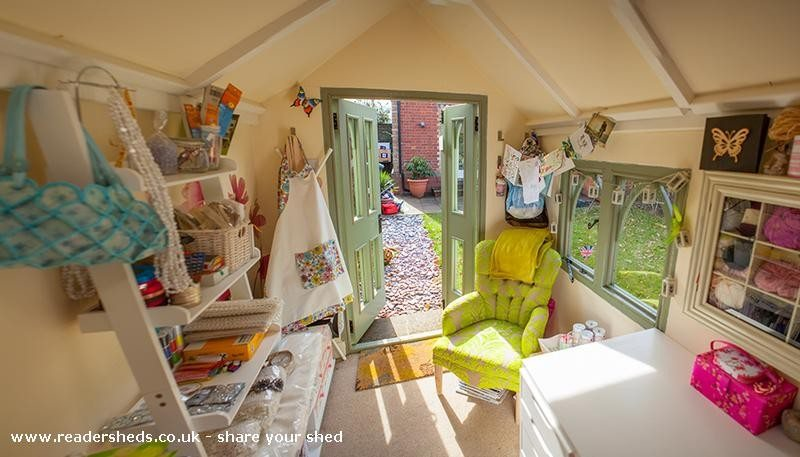 Man Cave Woman Shed : She sheds are the new man caves huffpost