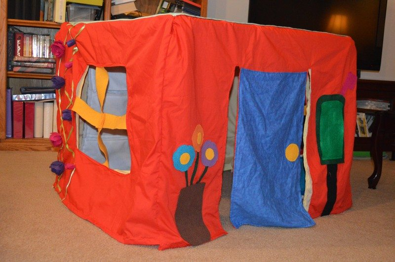 Card Table Play House