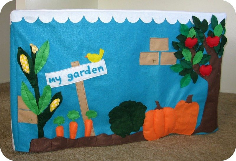 Felt Garden Playhouse