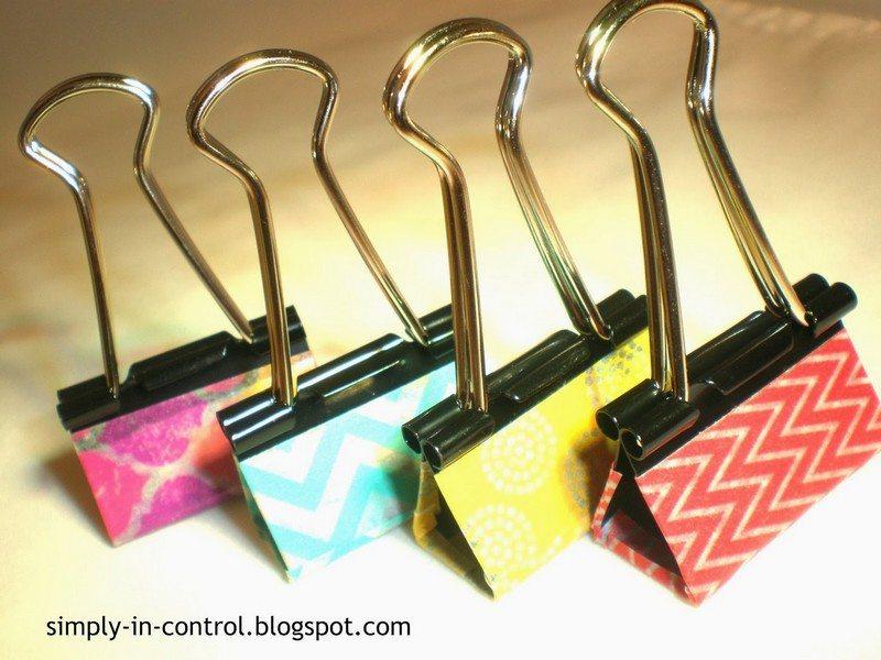 Binder Clip Tricks