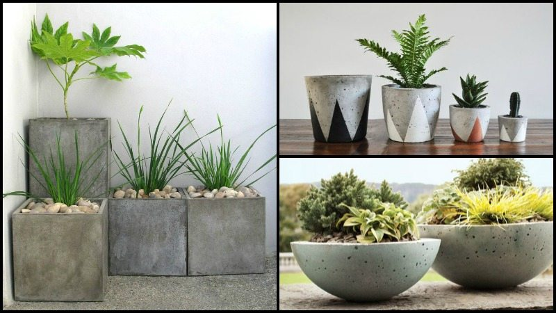 How To Make Your Own Concrete Planter The Owner Builder Network