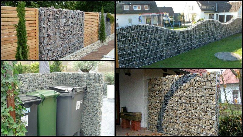 DIY Gabion Rock Walls Without Concrete